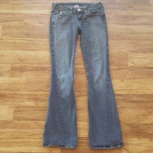True Religion Size 28 Flare Jeans